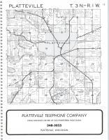 Platteville T3N-R1W, Grant County 1982